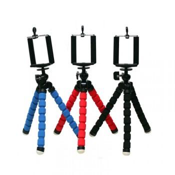 Универсальный трипод-штатив на гибких ножках 10.5 см для гаджетов размах 55-85 мм