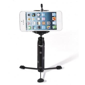 Мобильный ультралегкий шарнирный штатив 13.5 см для гаджетов до 500 гр размах держателя 55-85 мм