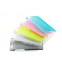Пластиковый матовый полупрозрачный чехол для Huawei Honor 4C