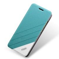 Текстурный дизайнерский чехол флип подставка на силиконовой основе для Huawei Honor 4C Голубой