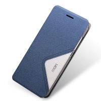 Текстурный дизайнерский чехол флип подставка на пластиковой основе для Huawei Honor 4C Синий