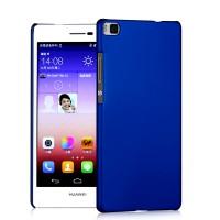 Пластиковый матовый непрозрачный чехол для Huawei P8 Lite