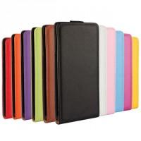 Чехол вертикальная книжка на платсиковой основе для Sony Xperia Z3+