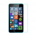 Ультратонкое износоустойчивое сколостойкое олеофобное защитное стекло-пленка для Microsoft Lumia 640