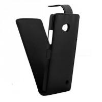 Чехол вертикальная книжка на пластиковой основе с магнитной застежкой для Microsoft Lumia 640