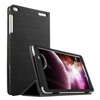 Сегментарный чехол подставка с рамочной защитой текстура Холст для Huawei MediaPad T1 10.0