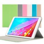 Текстурный чехол папка подставка на транспарентной поликарбонатной основе для Huawei MediaPad T1 10.0