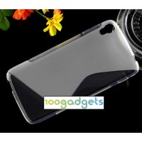 Силиконовый S чехол для Alcatel One Touch Idol 3 (5.5) Серый