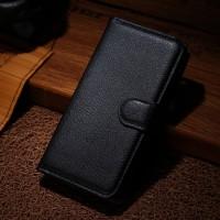 Чехол портмоне подставка с защелкой для Explay Air Черный