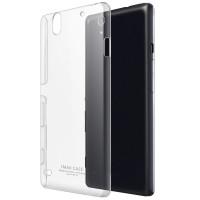 Пластиковый транспарентный чехол для Sony Xperia C4