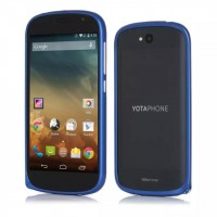 Металлический бампер для Yotaphone 2 Синий