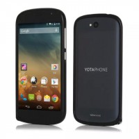 Металлический бампер для Yotaphone 2 Черный
