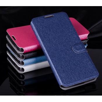Текстурный чехол портмоне подставка на силиконовой основе с магнитной защелкой для Alcatel One Touch Idol 3 (4.7)