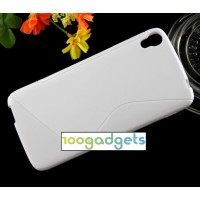 Силиконовый S чехол для Alcatel One Touch Idol 3 (4.7) Белый