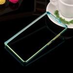 Металлический двухцветный бампер с золотой окантовкой для Lenovo A6010