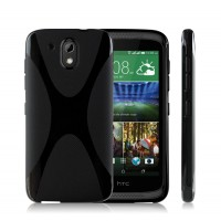 Силиконовый X чехол для HTC Desire 526