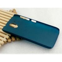 Пластиковый матовый непрозрачный чехол для HTC Desire 526 Зеленый