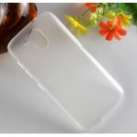 Силиконовый матовый чехол для HTC Desire 526 Белый