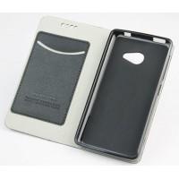 Чехол флип подставка на силиконовой основе с внутренним карманом для Acer Liquid M220