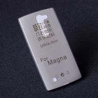 Силиконовый транспарентный чехол для LG Magna Серый
