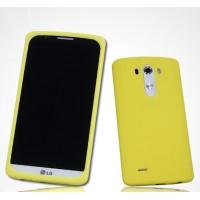 Силиконовый матовый премиум софт-тач чехол для LG G3