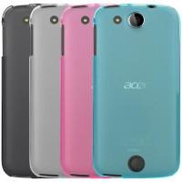 Силиконовый матовый полупрозрачный чехол для Acer Liquid Jade Z