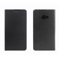 Чехол флип подставка на силиконовой основе с внутренним карманом для Acer Liquid Z220 Черный