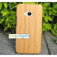 Эксклюзивный натуральный деревянный чехол сборного типа для HTC One (M7) Dual SIM