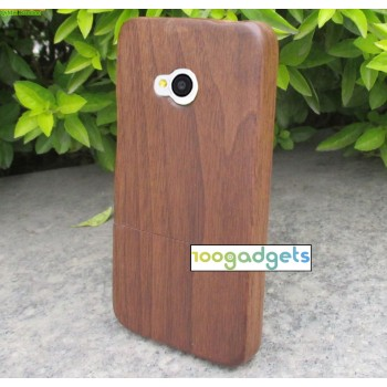 Эксклюзивный натуральный деревянный чехол сборного типа для HTC One (M7) модель 2013 год