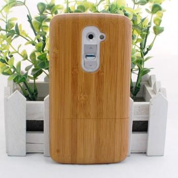 Эксклюзивный натуральный деревянный чехол сборного типа для LG Optimus G2