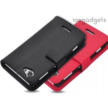 Чехол портмоне-подставка для Sony Xperia L