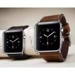 Кожаный винтажный ремешок без металлического коннектора для Apple Watch 42мм