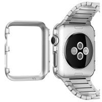 Пластиковый ультратонкий премиум чехол накладка для Apple Watch 42мм
