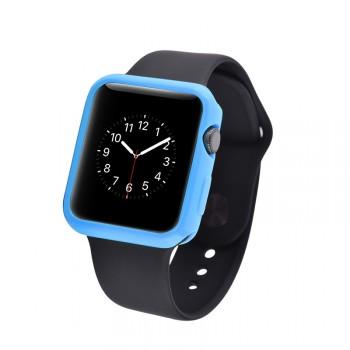 Силиконовый непрозрачный чехол для Apple Watch 42мм