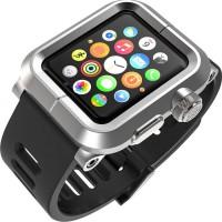 Металлический экстразащитный чехол для Apple Watch 42мм