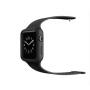 Цельный нескользящий гипоаллергенный силиконовый чехол с ремешком для Apple Watch 38мм