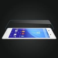 Ультратонкое износоустойчивое сколостойкое олеофобное защитное стекло-пленка для Sony Xperia Z3+