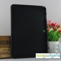 Силиконовый матовый чехол для Samsung Galaxy Tab 4 10.1 Черный
