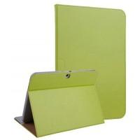 Чехол подставка текстурный для Samsung Galaxy Tab 4 10.1 Зеленый