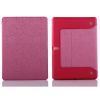 Текстурный чехол подставка с внутренними для Samsung Galaxy Tab S 10.5 Розовый