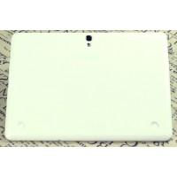 Силиконовый матовый полупрозрачный чехол для Samsung Galaxy Tab S 10.5 Белый