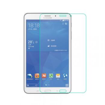 Ультратонкое износоустойчивое сколостойкое олеофобное защитное стекло-пленка для Samsung GALAXY Tab 4 8.0