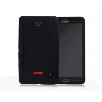Силиконовый матовый непрозрачный чехол для Samsung GALAXY Tab 4 7.0