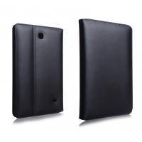 Кожаный чехол подставка для Samsung GALAXY Tab 4 7.0 Черный