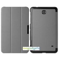 Чехол флип подставка сегментарный для Samsung GALAXY Tab 4 7.0 Серый