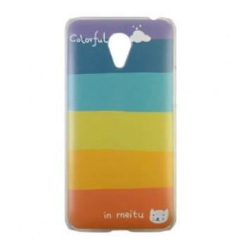 Пластиковый матовый дизайнерский чехол с УФ-принтом для Meizu M2 Note
