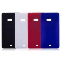Пластиковый матовый непрозрачный чехол для Microsoft Lumia 540