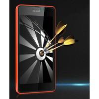 Ультратонкое износоустойчивое сколостойкое олеофобное защитное стекло-пленка для Microsoft Lumia 540