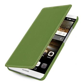Кожаный чехол горизонтальная книжка (нат. кожа) для Huawei Ascend Mate 7