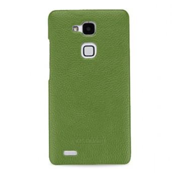 Кожаный чехол накладка (нат. кожа) для Huawei Ascend Mate 7
